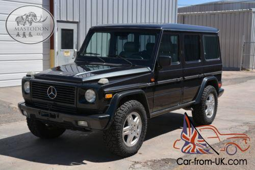 1995 mercedes benz g class 4x4 4 wheel drive. Black Bedroom Furniture Sets. Home Design Ideas