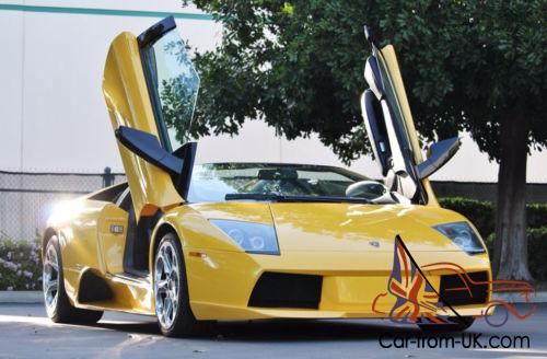 2006 lamborghini murcielago 2dr convertible roadster. Black Bedroom Furniture Sets. Home Design Ideas