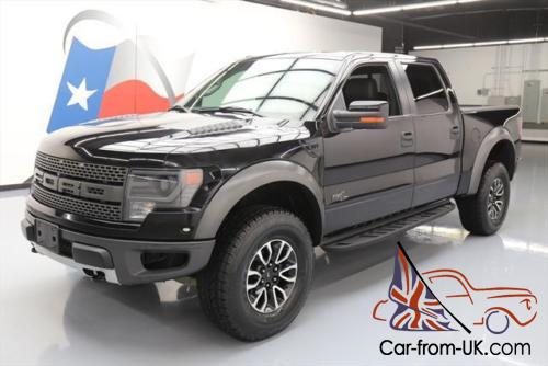 2013 ford f 150 svt raptor lux crew 4x4 sunroof nav. Black Bedroom Furniture Sets. Home Design Ideas