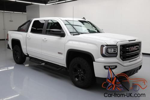 2016 gmc sierra 1500 sierra slt crew all terrain x 4x4 z71 nav. Black Bedroom Furniture Sets. Home Design Ideas