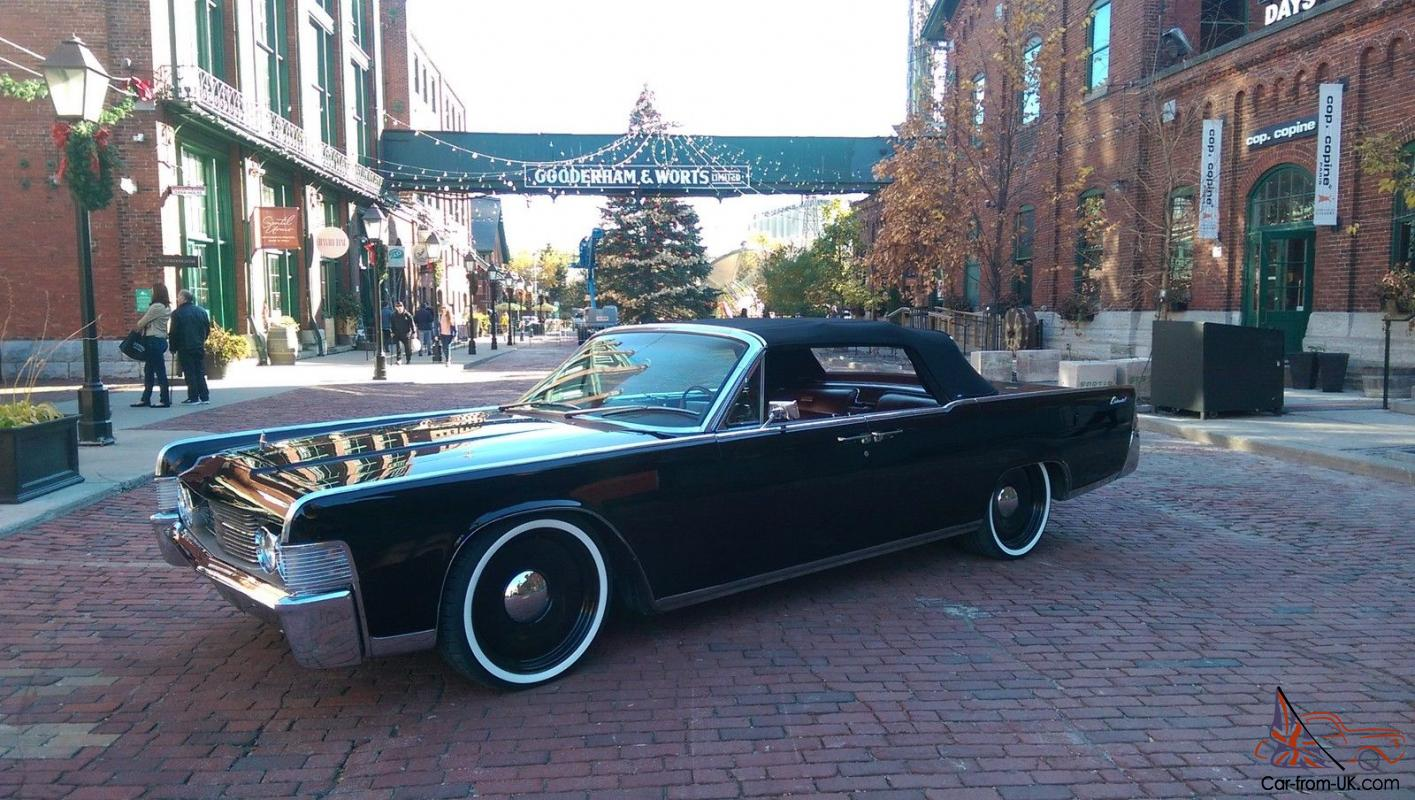 1965 Lincoln Continental Convertible | eBay