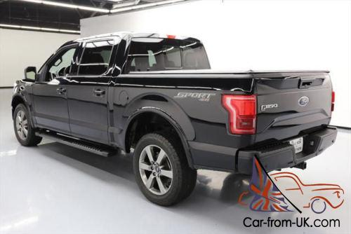 2017 ford f 150 lariat crew 5 0 sport 4x4 pano nav. Black Bedroom Furniture Sets. Home Design Ideas