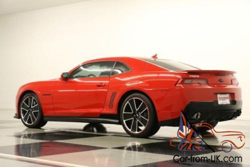 2014 chevrolet camaro 2ss sunroof gps leather red hot coupe. Black Bedroom Furniture Sets. Home Design Ideas
