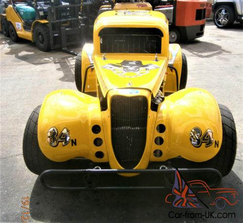 34 Ford Coupe And Trailer
