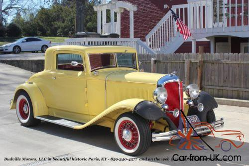 1932 Chrysler Other Rumble Seat Coupe