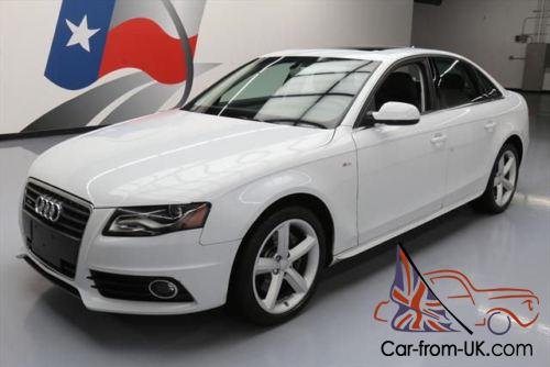2012 audi a4 2 0t quattro premium plus awd s line nav. Black Bedroom Furniture Sets. Home Design Ideas
