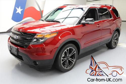 2015 ford explorer sport ecoboost awd sunroof nav. Black Bedroom Furniture Sets. Home Design Ideas
