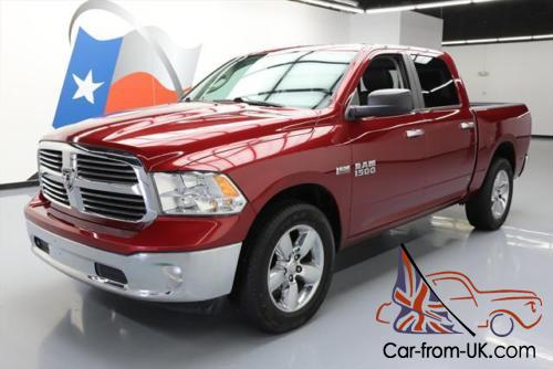 2014 dodge ram 1500 big horn crew 4x4 hemi leather. Black Bedroom Furniture Sets. Home Design Ideas