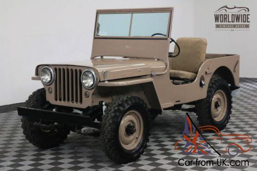 how to build a willys jeep frame