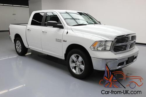 2015 dodge ram 1500 big horn crew 4x4 hemi leather. Black Bedroom Furniture Sets. Home Design Ideas