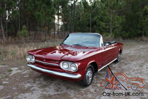 1963 Chevrolet Corvair Convertible Monza 900 77 Pics Call Now Photo