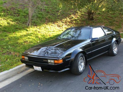 1984 toyota supra. Black Bedroom Furniture Sets. Home Design Ideas