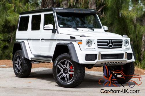 2017 mercedes benz g class g550 4x4 squared for Mercedes benz 4x4 squared