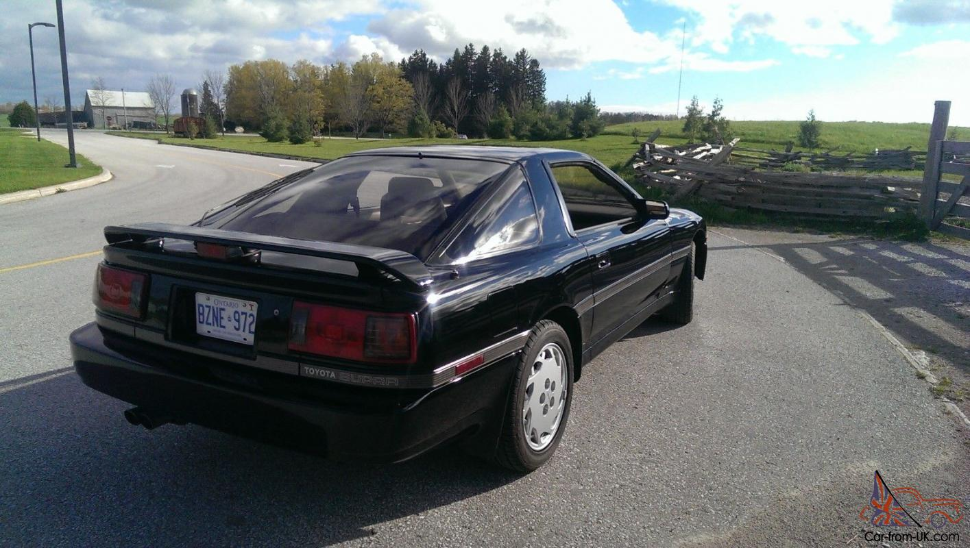 1987 toyota supra turbo targa hatchback 2 door ebay. Black Bedroom Furniture Sets. Home Design Ideas