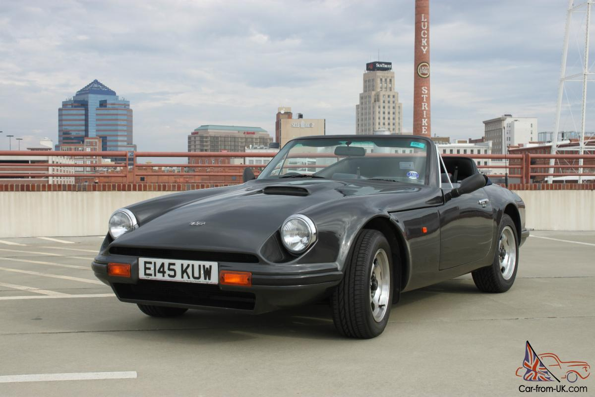 1987 tvr s convertible full restoration classic british sports car. Black Bedroom Furniture Sets. Home Design Ideas