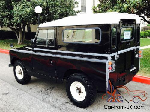 Land Rover Defender For Sale Texas >> 1967 Land Rover Defender Series 2A