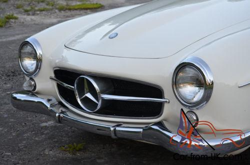 1960 mercedes benz sl class beautiful two top 190sl for Mercedes benz brentwood