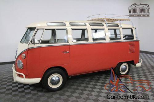 1963 volkswagen 23 window microbus rare walk though 23 for 1963 vw 23 window bus