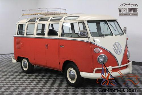 1963 volkswagen 23 window microbus rare walk though 23 for 1963 vw 23 window bus for sale