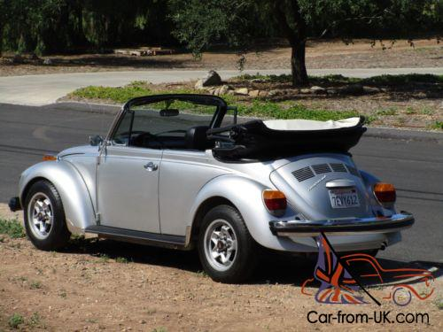 1979 Volkswagen Beetle Clic Convertible Photo