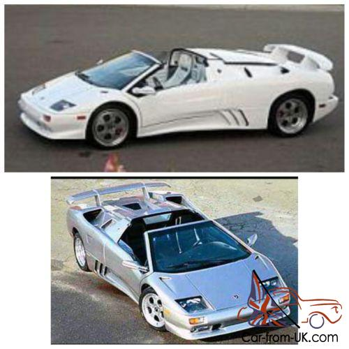 1985 Replica Kit Makes Lamborghini Diablo Roadster