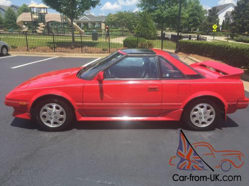 1989 mr2 supercharged