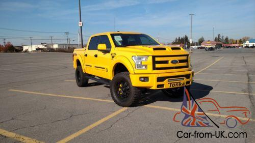 2016 Ford F 150 Tonka Shelby Supercharged