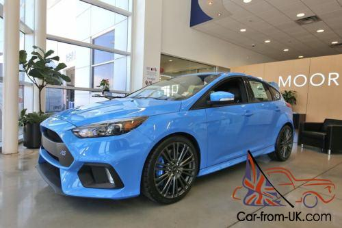 Ford Focus Awd >> 2017 Ford Focus Rs Awd