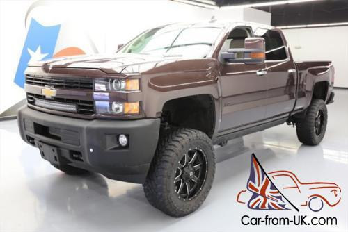 2016 Chevrolet Silverado 2500 Ltz Z71 4x4 Sel Lifted Photo