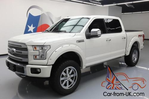 Ford F150 Platinum Lifted >> 2015 Ford F 150 Platinum Crew Fx4 4x4 5 0 Lifted Nav