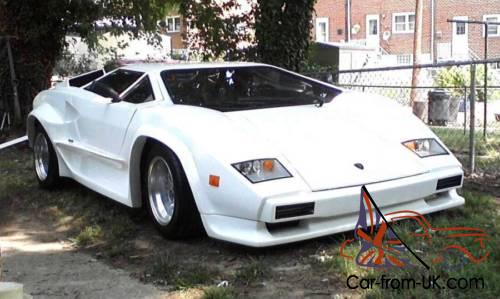 1988 Replica Kit Makes Lamborghini Countach S5000
