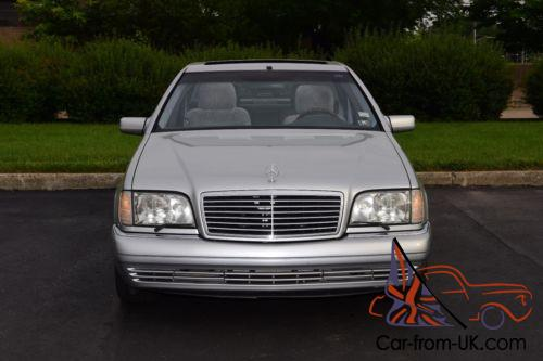 1997 mercedes benz 600 series s600 for 1997 mercedes benz s600