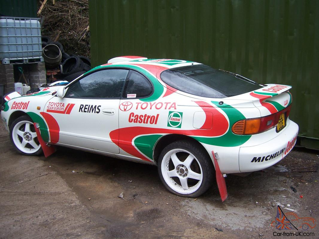 Toyota Celica Gt4 Turbo Stage Rally Log Booked Carlos