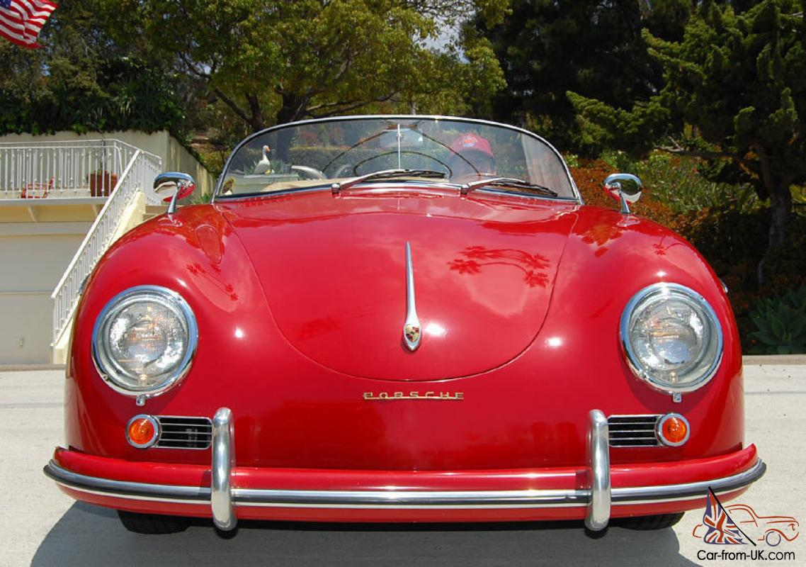 1955 porsche 356 speedster replica. Black Bedroom Furniture Sets. Home Design Ideas