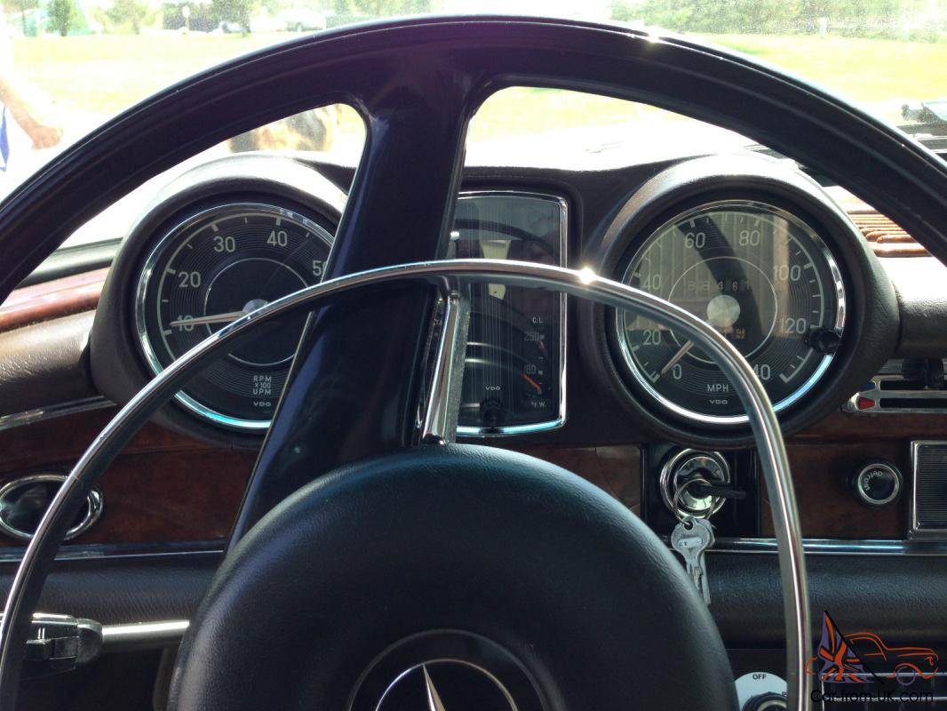 1969 mercedes benz 280se cabriolet fully restored tan brown interior. Black Bedroom Furniture Sets. Home Design Ideas