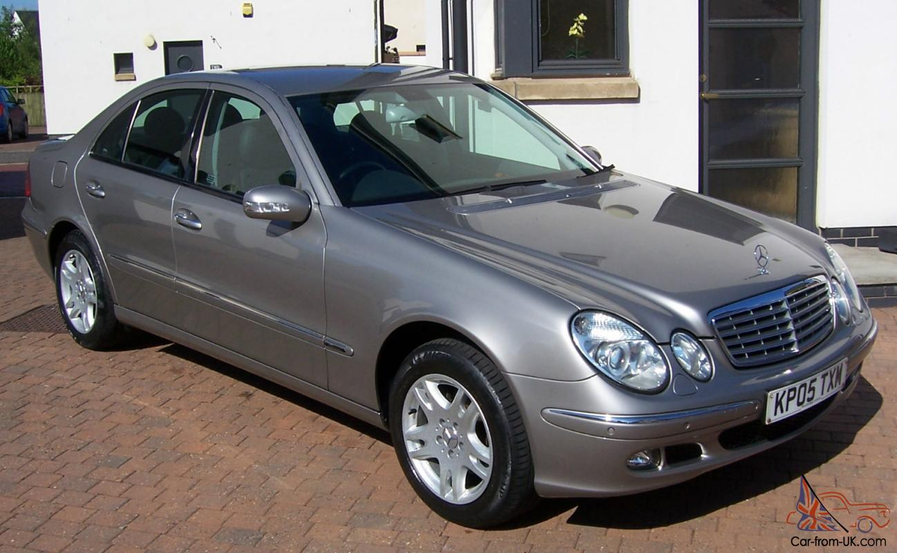 2005 mercedes e270 cdi elegance automatic silver mercedes service history. Black Bedroom Furniture Sets. Home Design Ideas