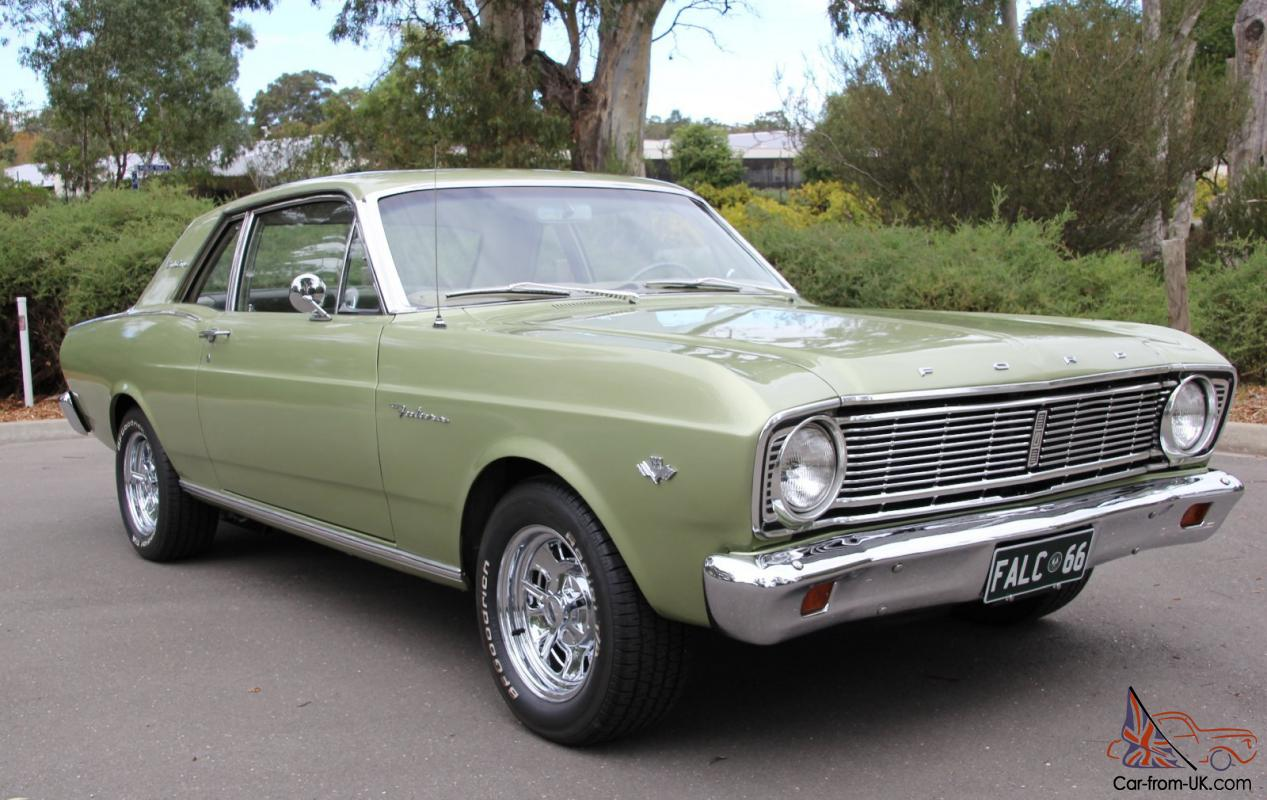 1966 usa ford futura sports coupe xr xt falcon 289 v8 4 speed on the floor