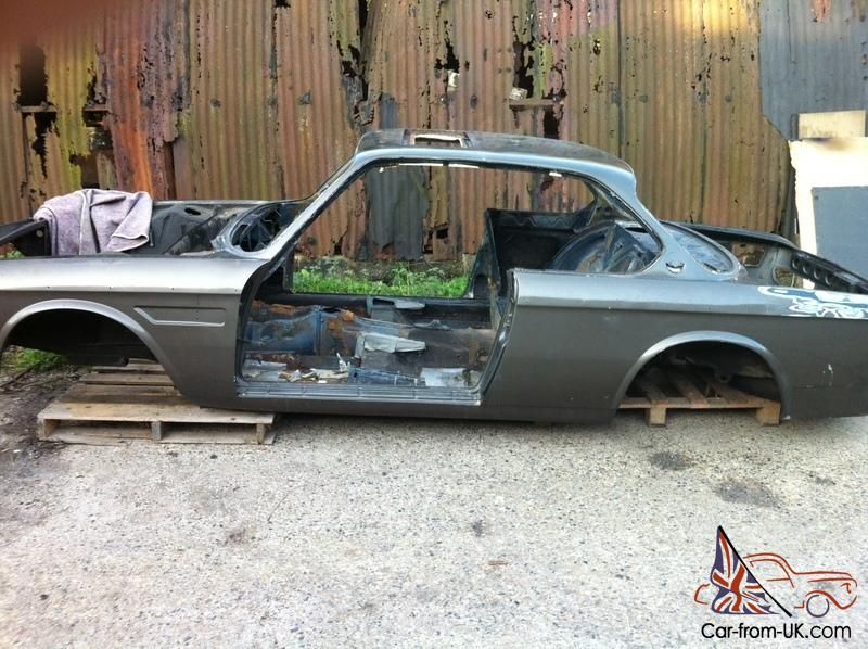 BMW E9 3.0 CSI 1973 project for sale or p/x swap