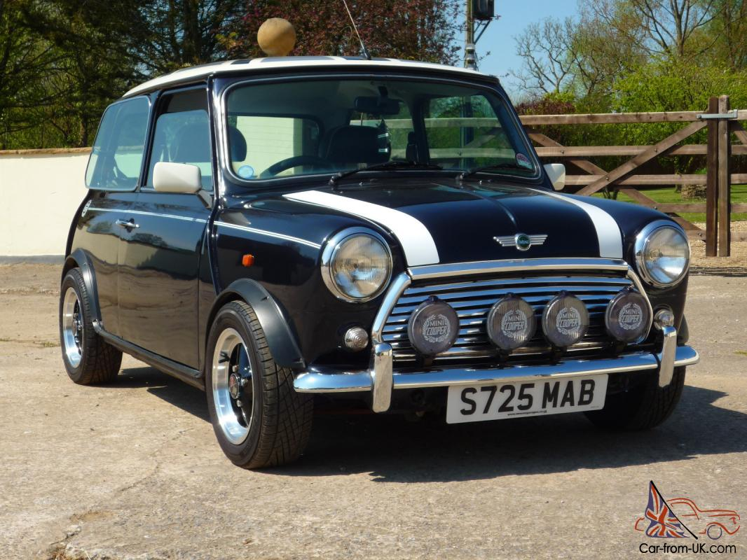 1998 Rover Mini Cooper 13i Great Car Taxedmot