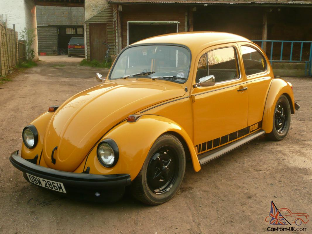 VW Beetle 1974 Jeans Special Edition