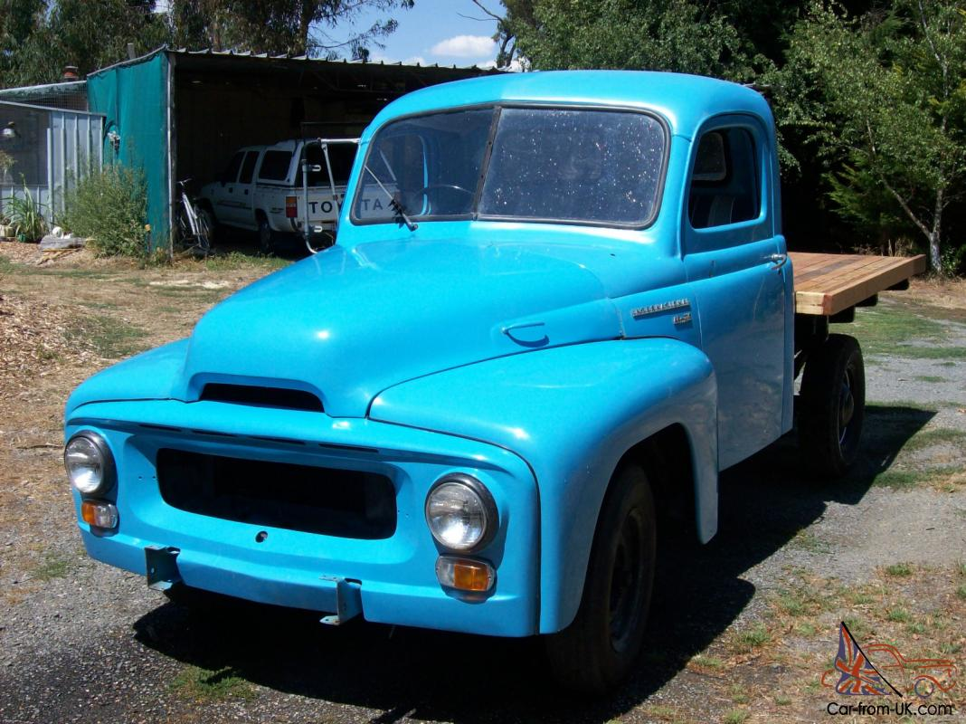 International Pick Up 1954 Not Ford Chev Dodge Swap Pre