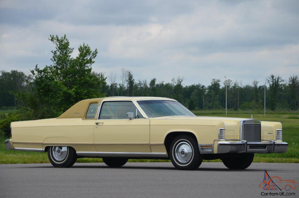 1977 lincoln town coupe 8 000 miles all original. Black Bedroom Furniture Sets. Home Design Ideas