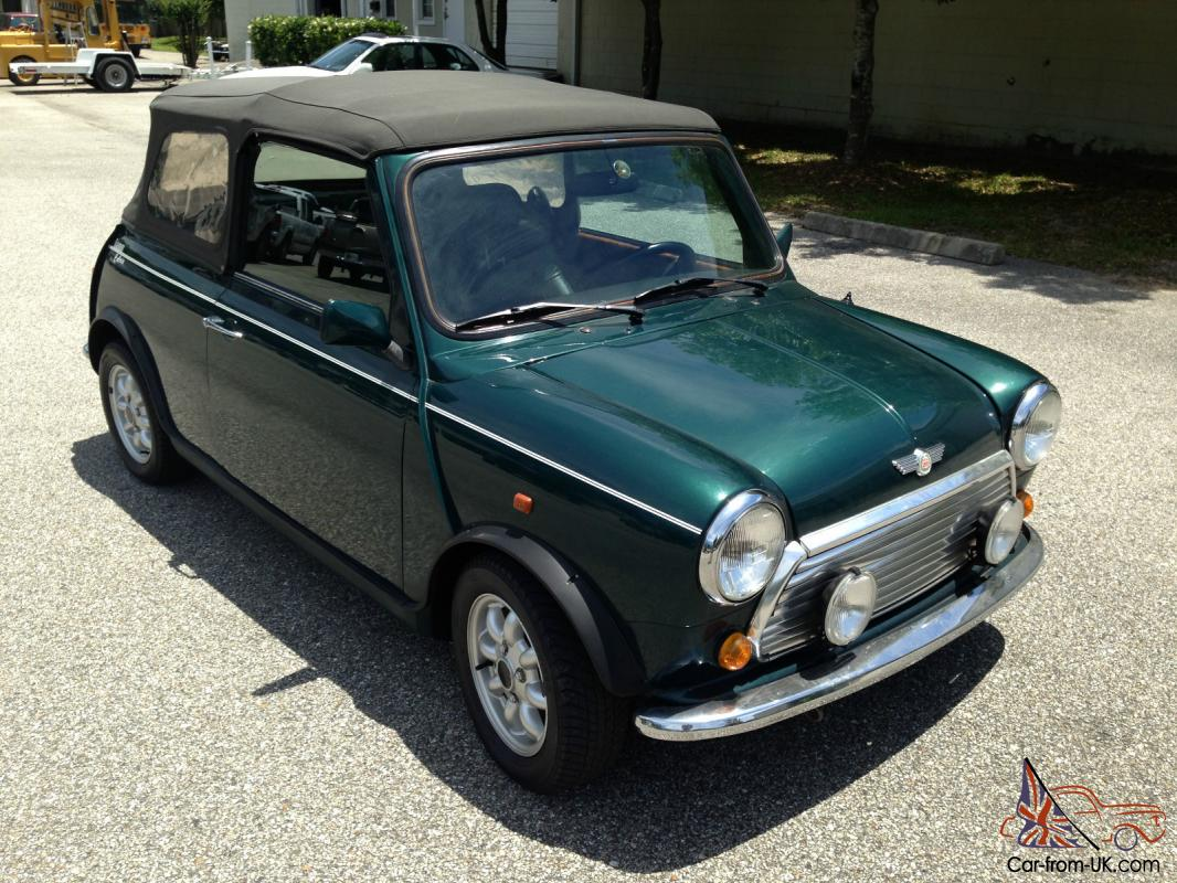 classic 1970 austin mini cooper convertible fully restored. Black Bedroom Furniture Sets. Home Design Ideas