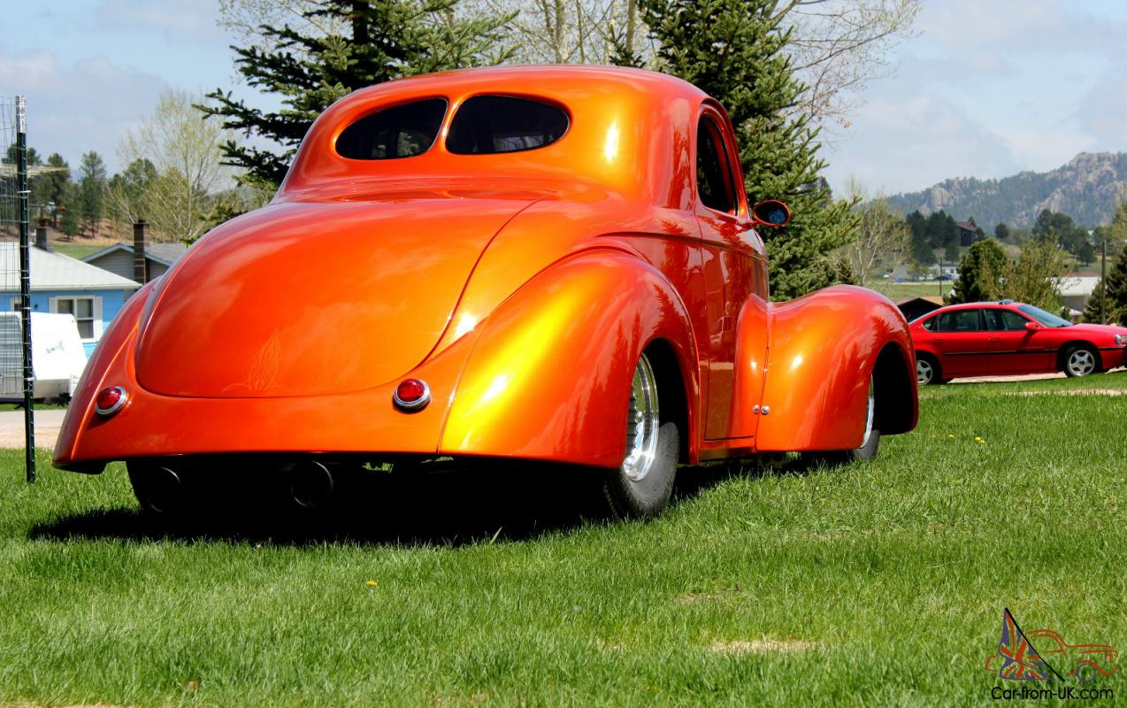 Related Pictures 1941 willys coupe steel body purple w flames love car