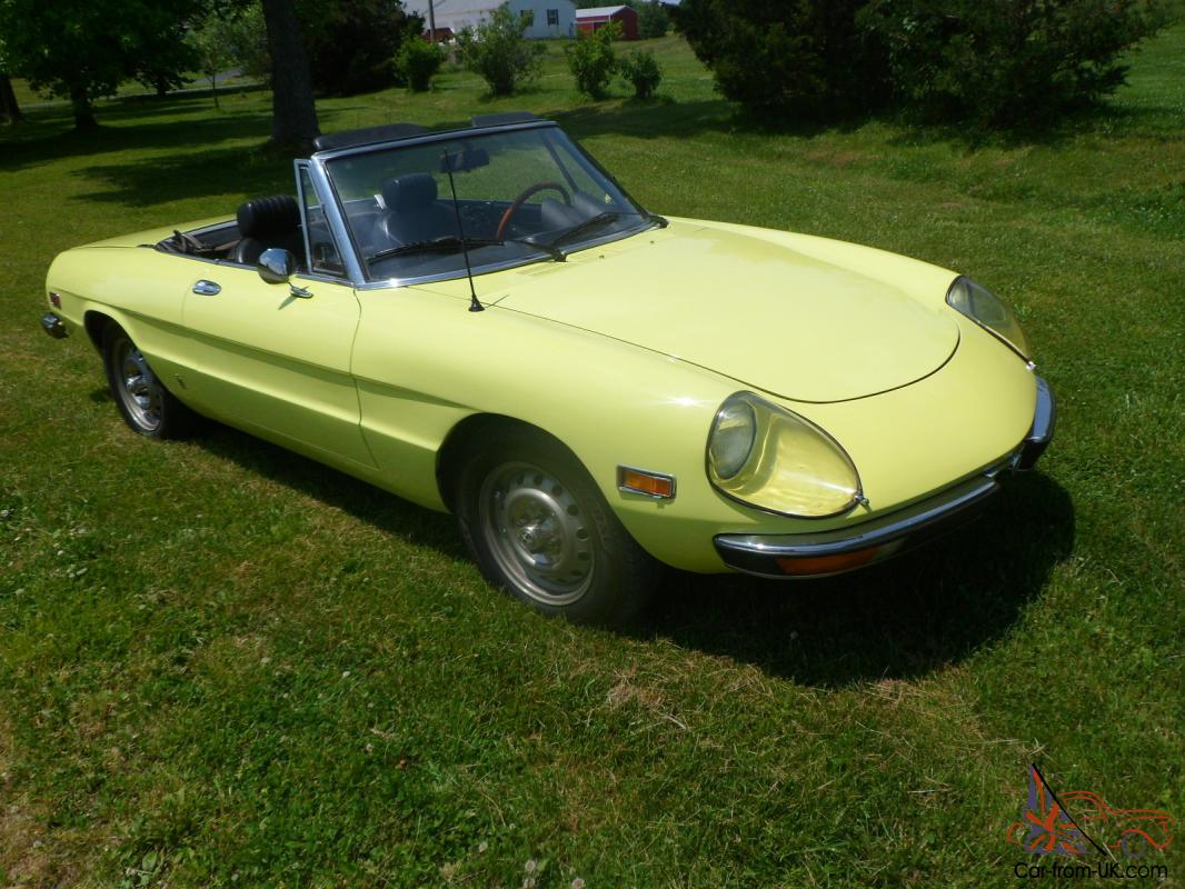 1972 alfa romeo 2000 spider related infomation,specifications