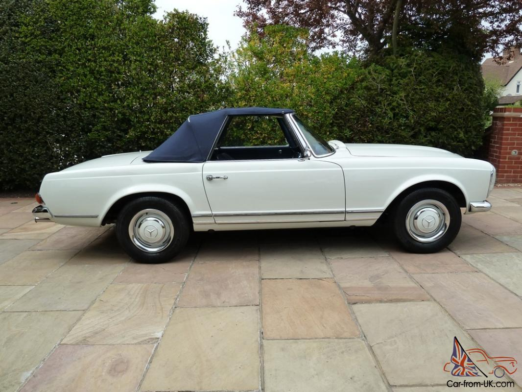 Mercedes 230sl pagoda w113 manual 1964 rhd for Mercedes benz pagoda