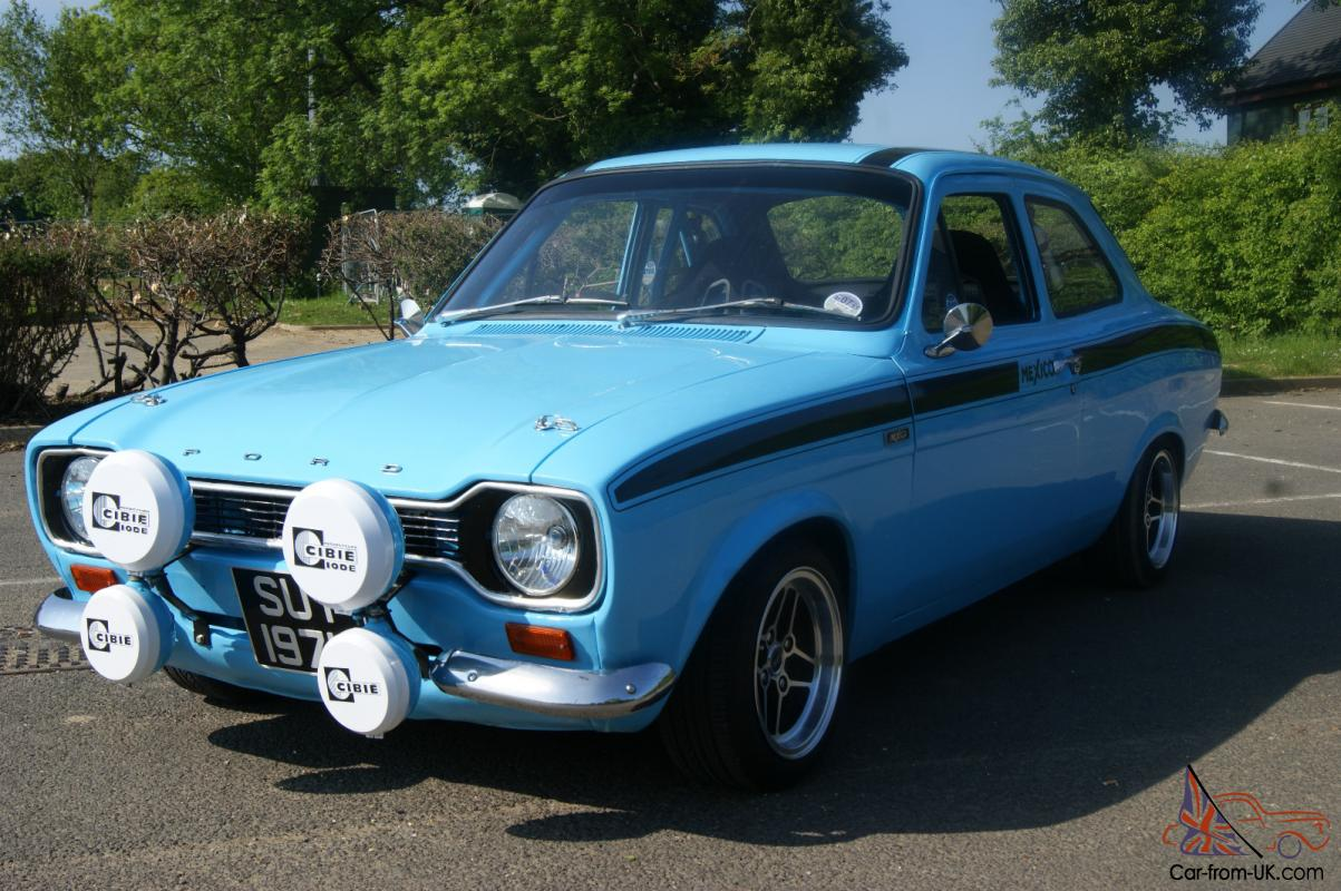FORD ESCORT MEXICO MARK 1 OLYMPIC BLUE