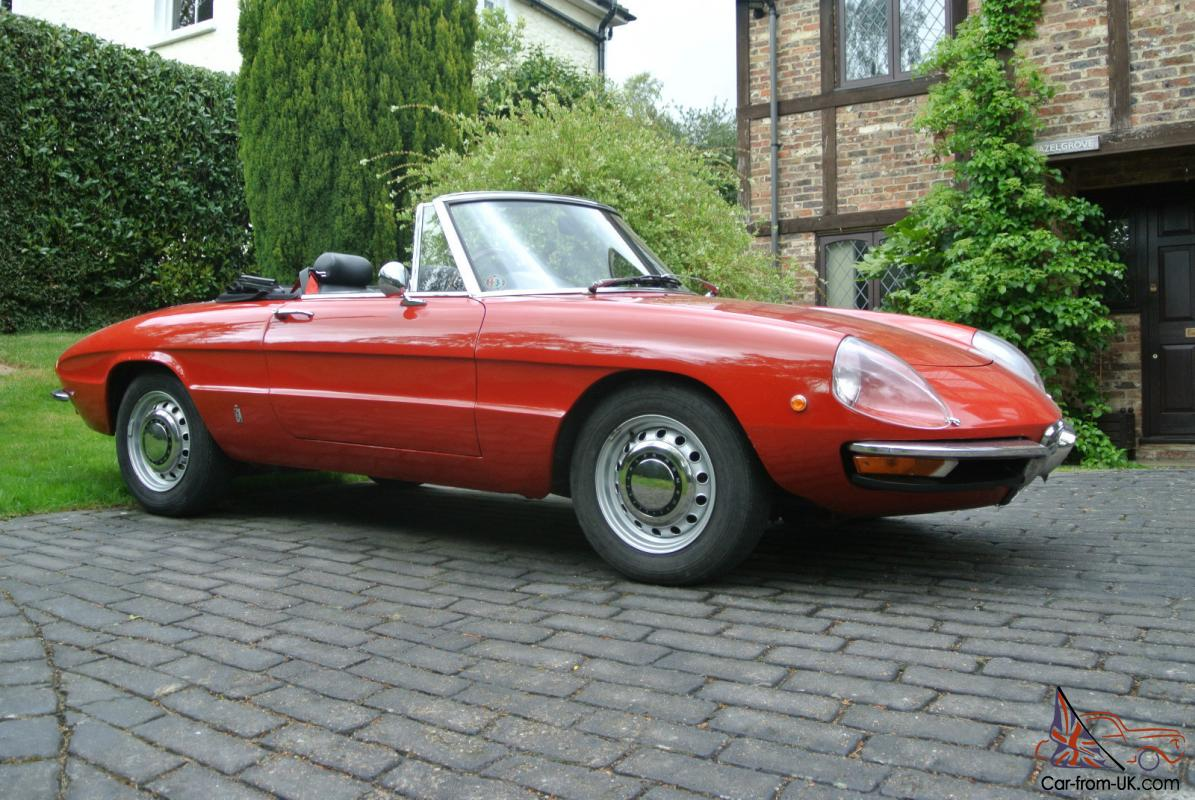 Alfa Romeo Spider Veloce Duetto Roundtail - Alfa romeo spider 1974 for sale