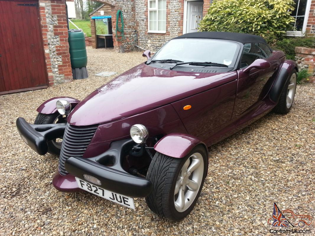 PLYMOUTH PROWLER REPLICA FIERO FACTORY V2 HOT ROD KIT CAR MOTTAX ...