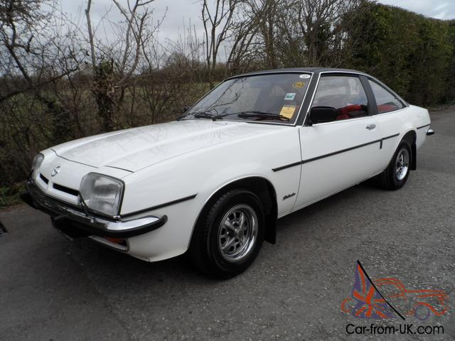 1978 opel manta 2 dr coupe sr berlinetta only 39k miles v original superb auto - Opel manta berlinetta coupe ...